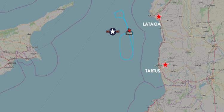New ISR mission off Syria – ItaMilRadar